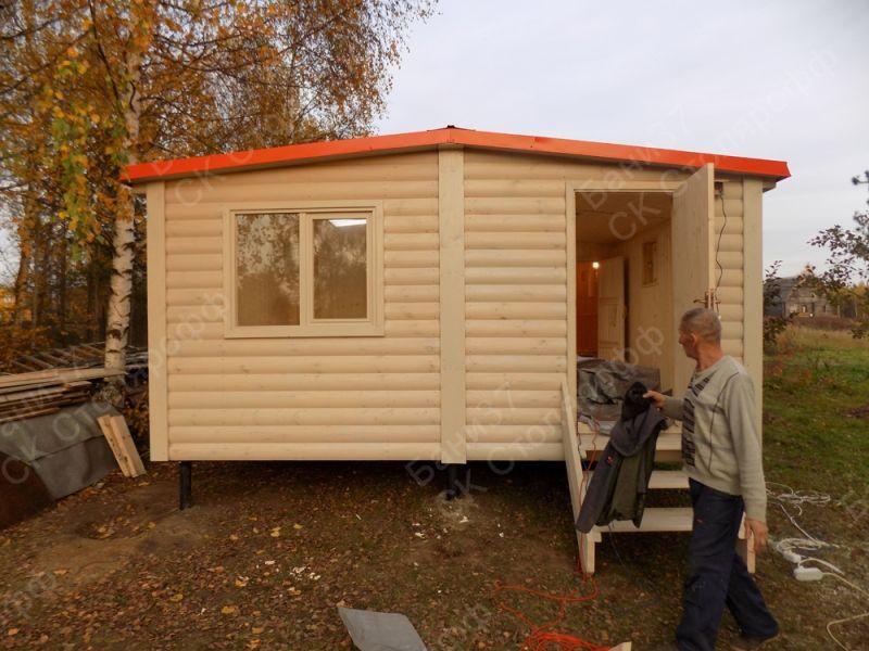 Деревня Чернево, модульная баня 5х6метров