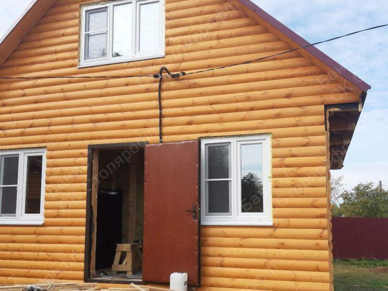Дом каркасный дачный 6х6м дер. Бурмакино